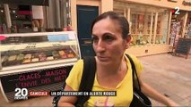 Spéciale Canicule: Reportage à Carpentras une ville en alerte rouge, une première en France en raison de la chaleur
