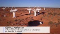 Australian researchers pinpoint cosmic radio wave burst's origin for 1st time