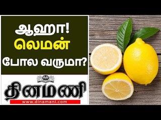 ஆஹா! லெமன் போல வருமா? | Health Benefits of Lemons | Health Tips