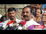 Vairamuthu Pays Last Respect to Crazy Mohan  | crazy mohan funeral