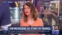 Un concert de rock au Stade de France... avec plus de 1000 musiciens