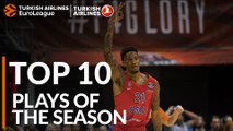2018-19 Turkish Airlines EuroLeague: Top 10 Plays!