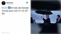 Donald Trump soudain conciliant à l'ouverture du G20 à Osaka