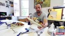 Chambéry : Art abordSavoie crée des baskets en matériaux recyclés