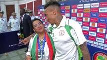 Reaction after Madagascar beat Burundi 1-0 in AFCON Group B