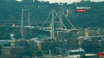 Italie: Regardez les images du dynamitage du pont Morandi à Gênes, dont l'effondrement avait fait 43 morts en août 2018 - VIDEO