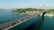 FSM Köprüsü'nde Sabah Saatlerinde Oluşan Trafik Yoğunluğu