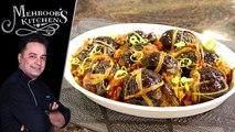 Masala Bharay Chatpattay Baingan Recipe by Chef Mehboob Khan 27 June 2019