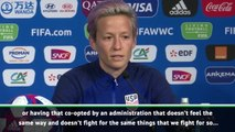 Rapinoe calls for teammates to boycott White House visit