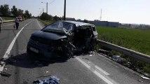 Ere collision camion voiture 28.06.2019