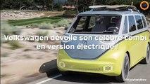 Volkswagen dévoile son célèbre combi en version électrique