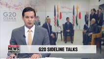 Trump, Abe, Modi hold talks on sidelines of G20 summit