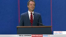 Governor Steve Bullock Gets His Chance To Debate