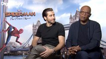 Jake Gyllenhaal & Samuel L Jackson talk Spiderman Far From Home and working with Tom Holland