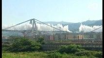 Gênes: Le pont Morandi a été définitivement détruit