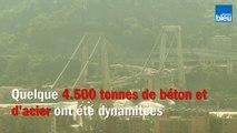 Pont de Gênes : les images impressionnantes de la destruction des deux piles restantes