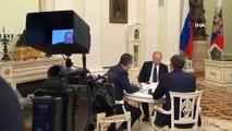 """- Putin: """"suriye Halkının Kendi Kaderini Belirlemesini Destekliyorum'- """"iran Ve Türkiye İle Suriye'de Kaosa İzin Vermedik""""- 'Trump'ın Politikaları Bana Ters""""- Rusya Devlet Başkanı Putin, Financial Times'a Röportaj Verdi"""