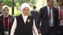 DHA DIŞ - Emine Erdoğan, G-20 Liderler Zirvesi'nin resmi eş programına katıldı