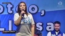 Sharon Cuneta endorses Poe's Senate bid, thanks husband Kiko's 'respect'