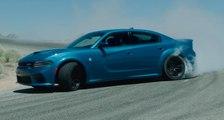 VÍDEO: Dodge Charger SRT Hellcat Widebody, así drifta la bestia