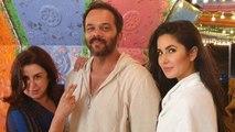 Katrina Kaif, Farah Khan & Rohit Shetty's sneak-peek from Tip Tip Barsa Paani   FilmiBeat