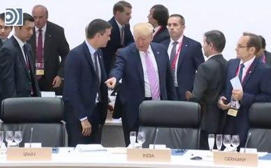 Trump manda sentar a Sánchez en la cumbre del G-20