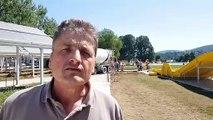 Besançon : effervescence sur le chantier de la piscine de Chalezeule