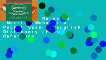 Trial New Releases  Merriam Webster s Pocket Spanish-English Dictionary (Pocket Reference