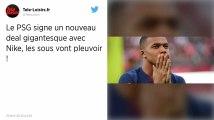 PSG : Paris signe le plus gros contrat sponsoring de son histoire avec Nike