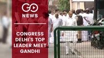 Congress Top Leaders Meet Rahul Gandhi