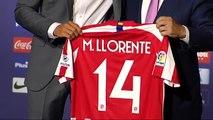 El Atlético de Madrid presenta a Marcos LLorente en el Wanda Metropolitano