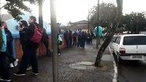 Professores que decidiram não aderir à greve seguem atendendo alunos em Cascavel