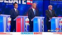 Democratic candidates get personal in second debate