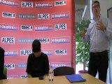 Alexandre Bompard, le pdg de Carrefour, répond aux lecteurs du Dauphiné Libéré