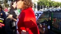 Professores em greve realizam ato no Núcleo Regional de Educação de Cascavel