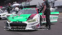 24h Nürburgring 2019 Audi R8 LMS - Intermediate results after four hours of racing