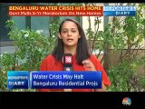 Karnataka government mulls a 5 year ban on new apartment construction citing acute water shortage