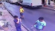 Le geste héroïque d'un ado qui rattrape de justesse une fillette tombée du 2e étage en Turquie