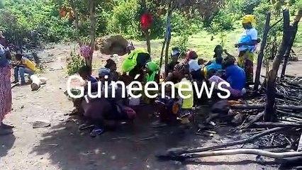 Kindia : un village d'éleveurs attaqué, plusieurs cases incendiées