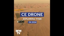 Le drone Dragonfly explorera Titan, la plus grande lune de Saturne, en 2034