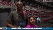 À Marseille on prend le frais à la patinoire