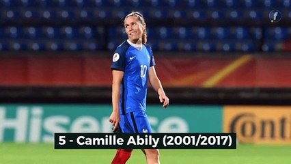 TOP 5: les meilleures buteuses de l'équipe de France féminine