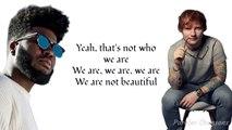 Ed Sheeran - Beautiful People Feat. Khalid (Paroles)
