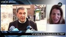 María Claver:¿Y el luto de los trabajadores de TVE?