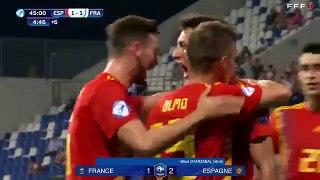 Espoirs : France-Espagne (1-4), résumé et réaction I FFF 2019