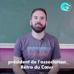"""Guillaume Moreira, de l'association """"Les Rétro Du Coeur"""" : le gaming pour tous l GG"""
