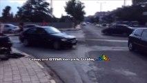 Τροχαίο με μηχανάκι κοντα στη ΔΕΥΑΛ