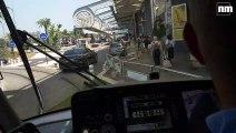 De l'aéroport à la place Masséna, découvrez la ligne 2 du tramway de Nice