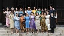 Koi feeding and rickshaw rides: G20 spouses get a taste of Japan's culture