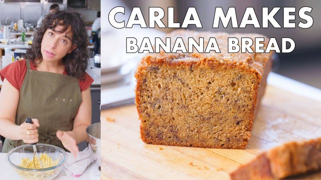 Carla Makes Banana Bread